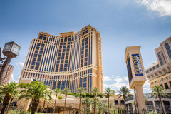 The Palazzo Hotel and Casino Stock Photo
