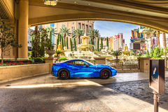 Palazzo Hotel and Casino valet parking Royalty Free Stock Photography