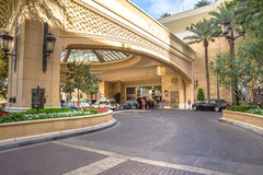 Palazzo Hotel and Casino valet parking Stock Images