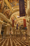 Palazzo Hotel Interior in Las Vegas, NV on August 02, 2013 Royalty Free Stock Photography