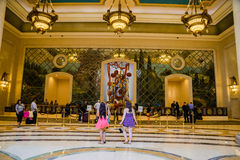The Palazzo Hotel Lobby Royalty Free Stock Images