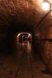 Palazzo illuminato di Gatcina della caverna immagini stock