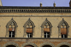 Palazzo im Bologna Stockfotografie