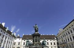 Palazzo imperiale di Hofburg, Vienna fotografia stock