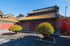 Palazzo imperiale di Shenyang Fotografia Stock