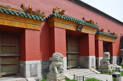 Palazzo imperiale di Shenyang, Cina Immagine Stock