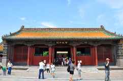 Palazzo imperiale di Shenyang, Shenyang, Cina Fotografia Stock