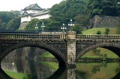 Palazzo imperiale giapponese Fotografia Stock