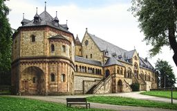 Palazzo imperiale in Goslar. Fotografie Stock Libere da Diritti