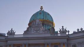 Palazzo imperiale Hofburg a Vienna fotografia stock libera da diritti