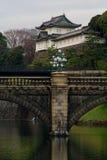 Palazzo imperiale nel Giappone Immagini Stock Libere da Diritti