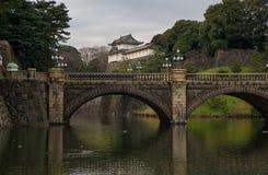 Palazzo imperiale nel Giappone Immagini Stock