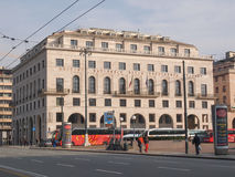 Palazzo INPS in Genoa Stock Images