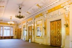Palazzo interno di Yelagin Fotografia Stock
