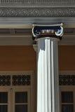 Palazzo ionico capo di Achilleon delle colonne immagini stock libere da diritti