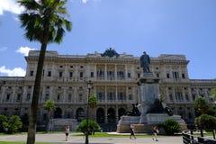 Palazzo italiano di giustizia in piazza Cavour, Roma Fotografia Stock Libera da Diritti