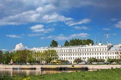 Palazzo italiano, Kronštadt, Russia Fotografie Stock Libere da Diritti