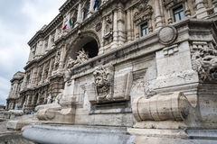 The Palazzo of Justice, the High Court of Italy in Rome Italy. Rome Italy, the Eternal city, which has been a destination for tourists since the times of the Stock Photography
