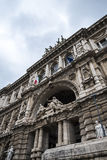 The Palazzo of Justice, the High Court of Italy in Rome Italy Stock Images
