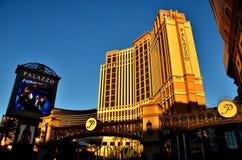 Palazzo, Las Vegas Photos libres de droits