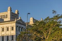 Palazzo legislativo dell'Uruguay a Montevideo Fotografia Stock Libera da Diritti
