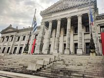 Palazzo legislativo Montevideo Uruguay Fotografia Stock Libera da Diritti