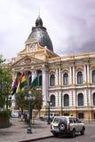 Palazzo legislativo, Seat del governo in La Paz, Bolivia Fotografie Stock Libere da Diritti