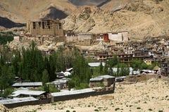 Palazzo in Leh, Ladakh Fotografia Stock Libera da Diritti