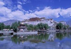 Palazzo Lhasa di Potala Immagine Stock