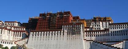 Palazzo lhasa Tibet di Potala   Immagine Stock