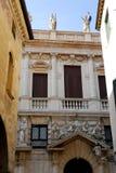 Palazzo lombard w Padua w Veneto (Włochy) Obraz Royalty Free