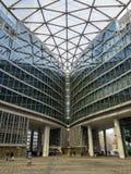 Palazzo Lombardia,米兰,波尔塔Nuova,摩天大楼,伦巴第地区,意大利 里面正方形 库存照片