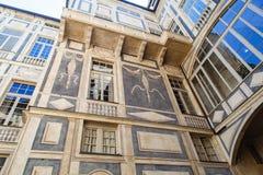 Palazzo Lomellino a Genova fotografia stock libera da diritti