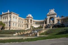 Palazzo Longchamp Marsiglia, francese fotografie stock libere da diritti
