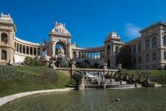 Palazzo Longchamp Marsiglia, francese fotografia stock