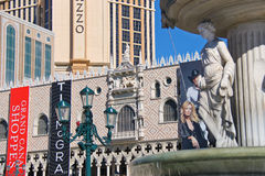 The Palazzo luxury hotel and casino resort  in Las Vegas Stock Photos