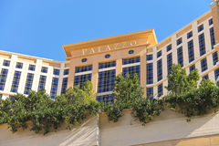The Palazzo luxury hotel and casino resort  in Las Stock Photo