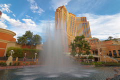 The Palazzo luxury hotel and casino resort Stock Photo