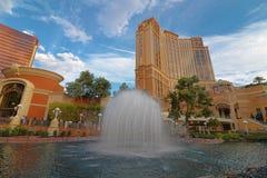 The Palazzo luxury hotel and casino resort Stock Images