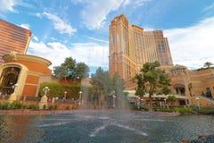 The Palazzo luxury hotel and casino resort Stock Photos