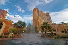 The Palazzo luxury hotel and casino resort Royalty Free Stock Photos
