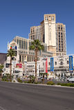 Palazzo luxury resort and casino in the Las Vegas Royalty Free Stock Photography