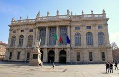 Palazzo Madama à Turin Image libre de droits