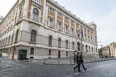 Palazzo Madama στη Ρώμη η Σύγκλητος Στοκ εικόνα με δικαίωμα ελεύθερης χρήσης