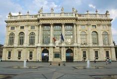 Palazzo-madama, historischer Palast in Turin Lizenzfreie Stockfotos