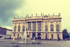 Palazzo Madama In Turin, Italy Royalty Free Stock Photography