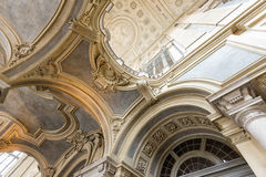 Palazzo Madama Palace.Turin.Italy royal photos stock