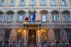 Palazzo Madama - Roma Fotos de archivo libres de regalías