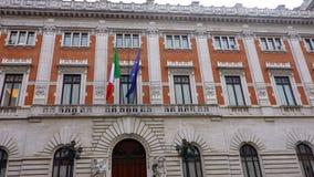 Palazzo Madama Rome italy stock footage
