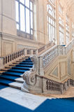 Palazzo Madama's staircase Stock Photos